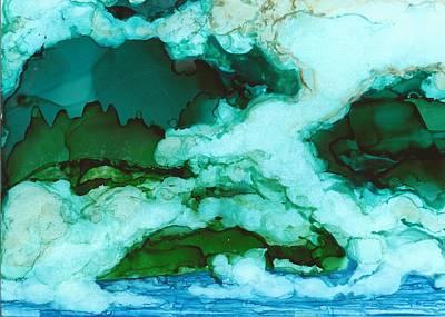 Joy Dorr Painting - Siren Song by Joy Dorr