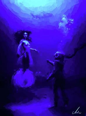 Sirens Of Pandora  Art Print