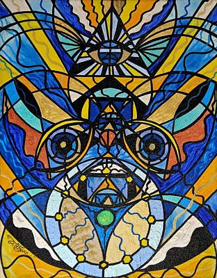 Painting - Sirian Solar Invocation Seal by Teal Eye Print Store