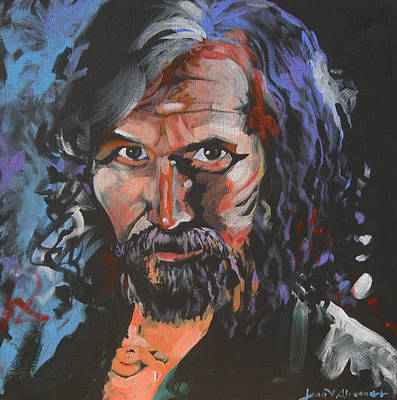 Harry Potter Painting - Sirius Black by Jean Alexander