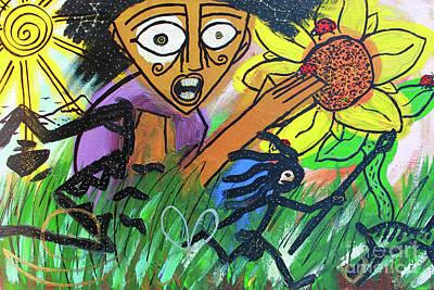 Painting - Sirius Daze by Odalo Wasikhongo