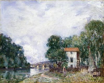 Photograph - Sisley: Landscape by Granger