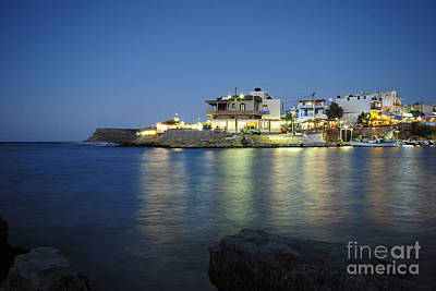 Fishing Village Photograph - Sissi, Crete by Nichola Denny