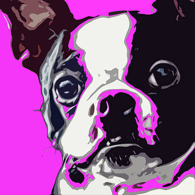 Terrier Digital Art - Sissy Pup by David G Paul
