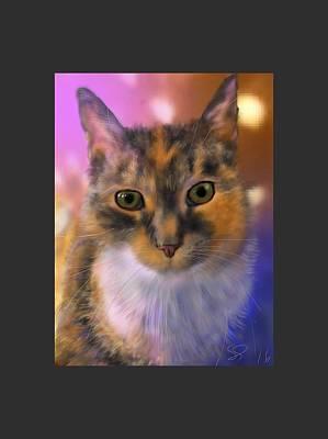 Painting - Sissy by Susan Sarabasha