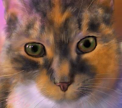 Sissy Up Close Art Print