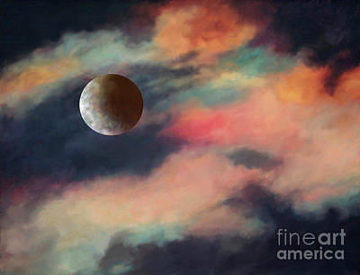 Painting - Sister Moon by Ursula Freer
