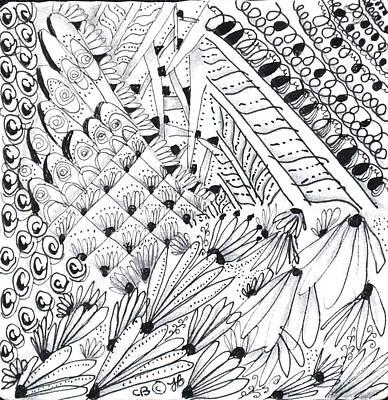 Sister Tangle Art Print