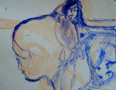 Bonding Painting - Sisterhood by Judith Redman