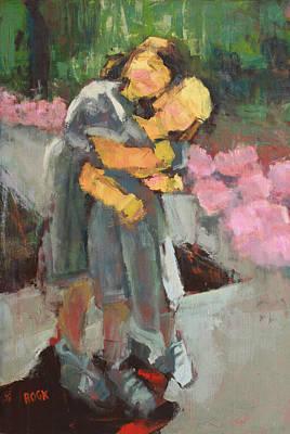 Wall Art - Painting - Sisterhood by Leslie Rock