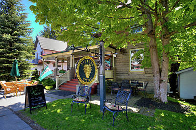 Photograph - Sisters Bistro In Old Forge by David Patterson