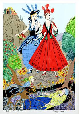 Rubaiyat Painting - Sisters by Carolynn Fischel