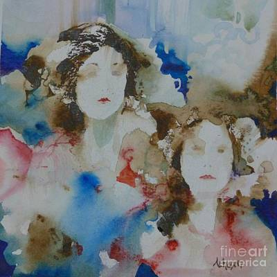 Painting - Sisters by Donna Acheson-Juillet