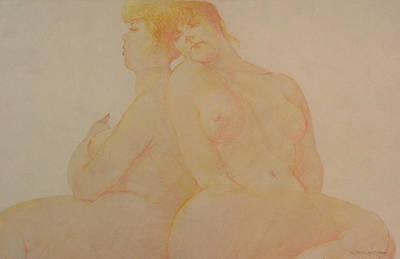 Sisters Art Print by Gary Kaemmer