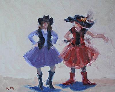 Painting - Sisters by Karen McLain