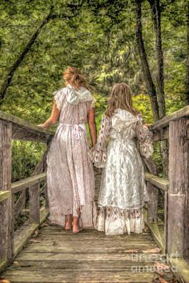 Sisters Art Print by Randy Steele