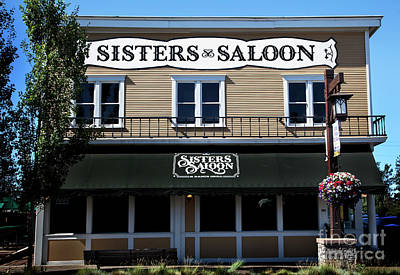 Photograph - Sisters Saloon by David Millenheft