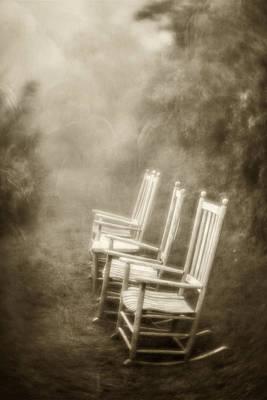 Photograph - Sit A Spell-sepia by Joye Ardyn Durham