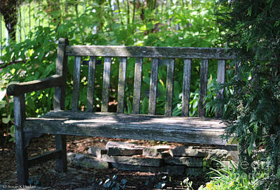 Photograph - Sit A Spell by Susan Herber