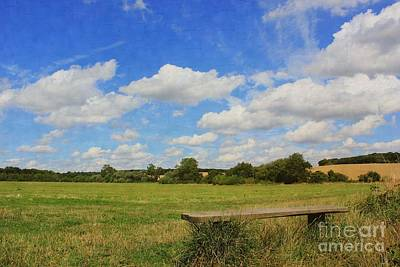 Photograph - Sit And Enjoy The Countryside by Vicki Spindler