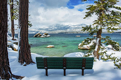 Photograph - Sit And Relax By Brad Scott by Brad Scott