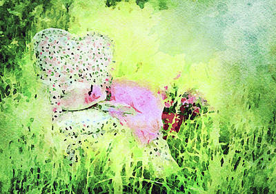 Digital Art - Sit Down And Dream by Georgiana Romanovna