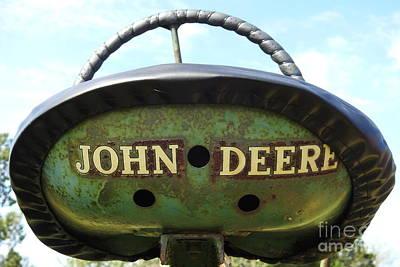 Photograph - Sit On My John Deere - Tractor 782 by Ella Kaye Dickey