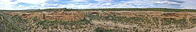 Photograph - Sites At Mesa Verde by Ron Weathers