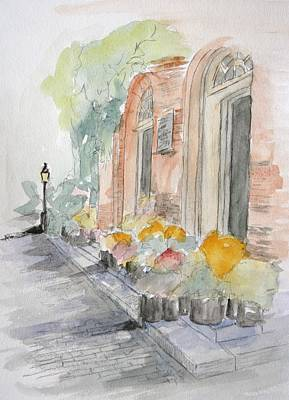 Painting - Sites Of Boston by Julie Lueders