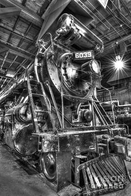 Photograph - Siting In The Roundhouse  by Paul W Faust - Impressions of Light