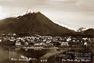 Photograph - Sitka Alaska No. 474 Circa 1935 by California Views Archives Mr Pat Hathaway Archives