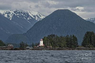 Photograph - Sitka Lighthouse by Loriannah Hespe