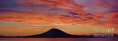 Yukon River Photograph - Sitka Sunrise by Jim Chamberlain