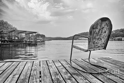 Photograph - Sittin' On The Dock At The Lake by Dennis Hedberg