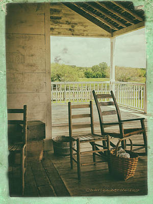 Photograph - Sittin Place by Charles McKelroy