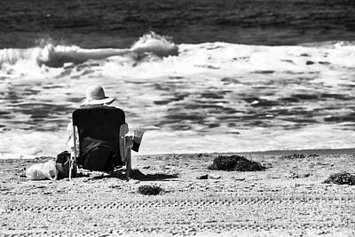 Photograph - Sitting At Zuma Beach by John Rizzuto