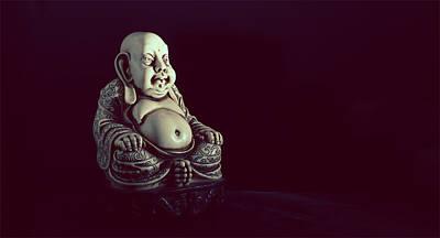 Buddha Photograph - Sitting Buddha Art - Large Buddha Prints by Wall Art Prints