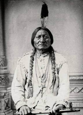 Photograph - Sitting Bull - Doc Braham - All Rights Reserved by Doc Braham