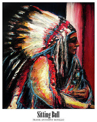 Painting - Sitting Bull II by Frank Botello