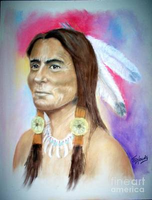 Sitting Bull Art Print by John De Young