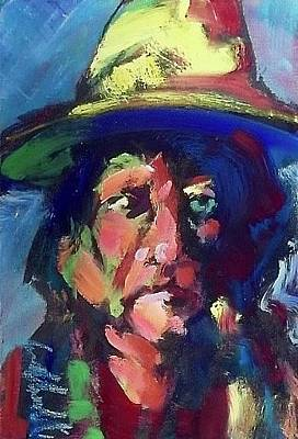 Painting - Sitting Bull by Les Leffingwell