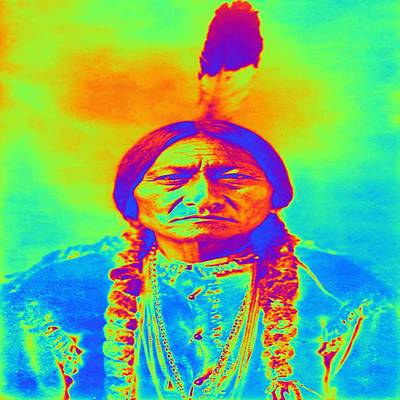 Digital Art - Sitting Bull by Matthew Lacey