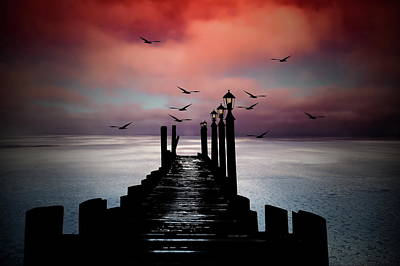 Photograph - Sitting On The Dock Of The Bay by Andrea Kollo