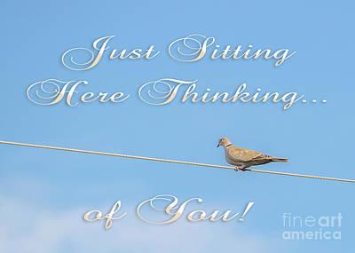 Photograph - Sitting Here Thinking Of You by Mechala Matthews