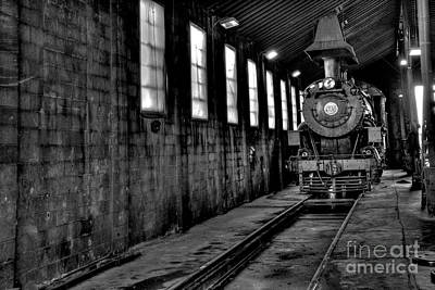 Photograph - Sitting In The Engine Shed by Paul W Faust - Impressions of Light