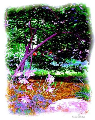 Art Print featuring the painting Sitting In The Shade by Patricia Griffin Brett