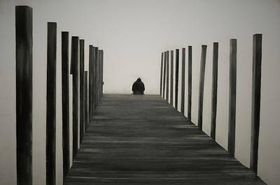 Photograph - Sitting On The Dock by David Gordon