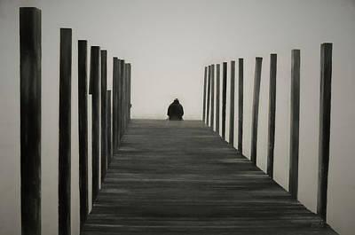 Photograph - Sitting On The Dock by David Gordon