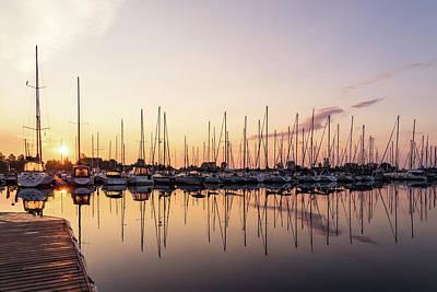 Photograph - Sitting On The Dock Enjoying The Silky Morning by Georgia Mizuleva