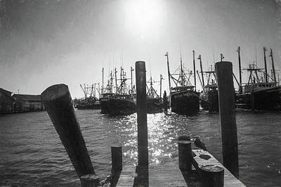 Photograph - Sitting On The Dock Of The Bay by John Rivera